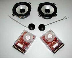 Andrian Audio A1-4 DIN 2-Wege-System 13cm / 4Ohm
